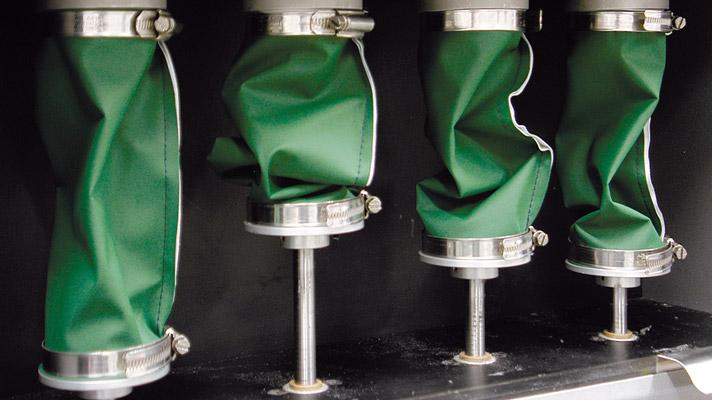 Crumple flex test (EN ISO 7854:1997 method C)