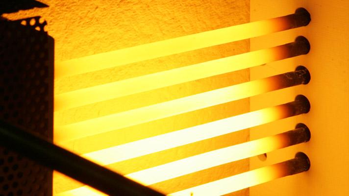 Heat transfer radiation